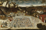 Lucas Cranach - Der Jungbrunnen (Gemäldegalerie Berlin) cropped