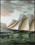 Schooner Mohawk off Sandy Hook