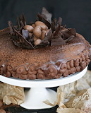 Chocolate Easter torte