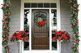 ^ Christmas door decorations
