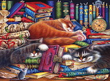 The Old Book Shop Cats, Irina Garmashova-Cawton