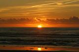 Sunset on the sea / soleil couchant sur la mer 02