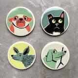 Dog-coasters-by-hannah-turner