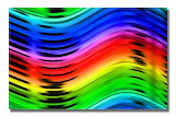 Rainbow Waves @ Pinterest...