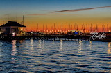Sunset at Charleston Harbor Marina