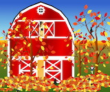 Colours-colorful-barn-trees-foliage-autumn-graphic
