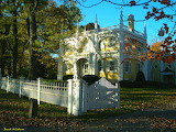 Wedding Cake House,Kennebunk,Maine