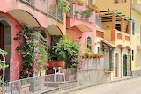 Street of Acireale, Sicilia, Italy