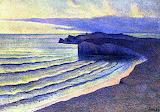 Coastal Scene by Maximilien Luce 1893