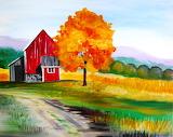 Barn-painting