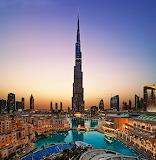 Burj Khalifa, Dubai, UAE...