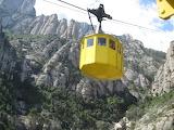 Teleférico-a-Montserrat Barcelona
