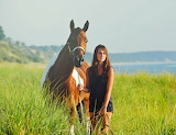A walk with my horse