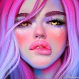 Fluro Lips