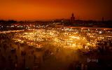 Jamaa el-Fnaa market square. Marrakesh, Morocco