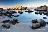 Corsica beach Tamaricciu at Porto Veccio