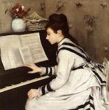 Eva Gonzalès, Secretly, 1877