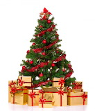 ^ Christmas presents under the tree