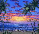 Hawaiian Beach Sunset by Ben Saber