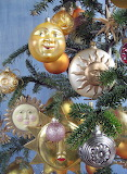 Sun tree ornaments