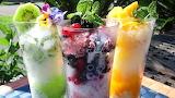 Ice summer drinks