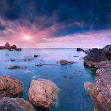 Colorful evening seascape!
