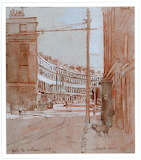 Bath the Sublime: Norfolk Crescent by Walter Richard Sickert