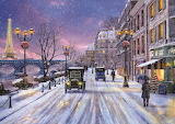 Christmas Eve in Paris - Dominic Davison