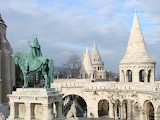 Battlements and Turrets-Castle Hill-Budapest-Hungary