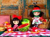 Watermelon Dolls
