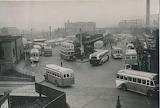 Barnsley Bus Station, 1948