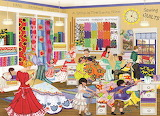 Quilters Shop~ TuulaBurger
