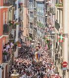 Spain, Pamplona, San Fermin festival