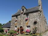Maison fleurie Locronan