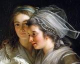 Self-Portrait with Two Pupils ~ Adélaïde Labille-Guiard