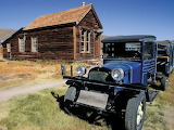 Dodge Truck and Old Post Office