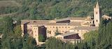 Abbazia Monte Oliveto Maggiore Siena - Veduta da Chiusure