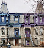Montreal Quebec OLD Victorian Houses