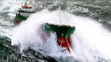 MV Luro in Storm Seas