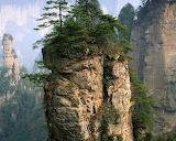 Tall Pillars of Rock Wulingyuan China