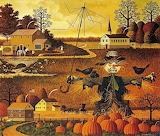 Halloween Art by Charles Wysocki