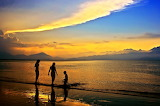 Sundown on Danang Bay