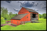 ^ German Bank Barn, Daniel Boone Homestead, Exeter, PA