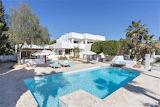 Luxury villa, pool and garden in Ibiza