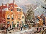Willem Koekkoek-Winter in Enkhuizen