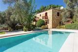Restored luxury Mediterranean farmhouse and pool