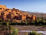 Shallow stream Ouarzazate Morocco