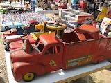 Dog Days Flea Market antique toys