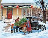 Country Christmas by John Sloane...
