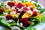 #Fresh Beet Salad with Orange and Feta